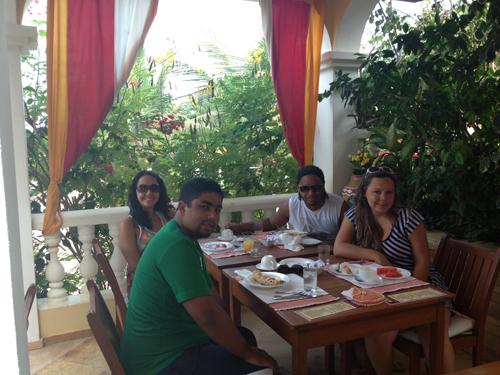 Café da manhã -  do Hotel Villa Terra Viva - Jericoacoara