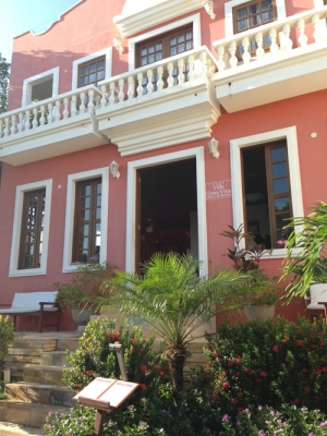 Entrada do Hotel Villa Terra Viva - Jericoacoara