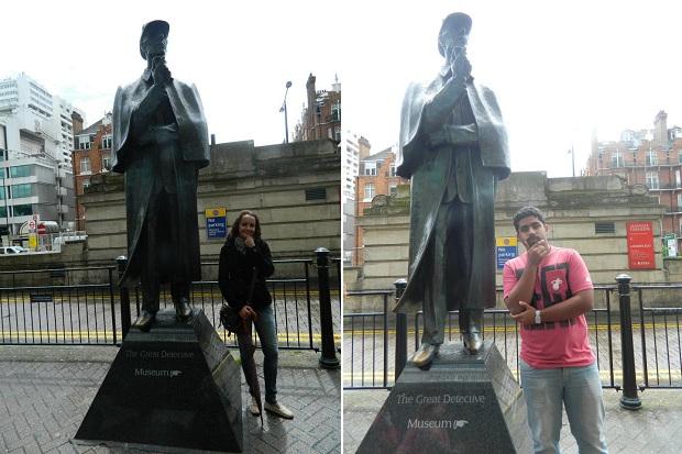 Sherlock e seu caro Watson