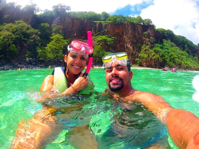 Snorkel na praia mais bonita do Brasil, Sancho