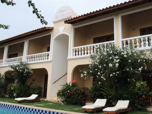 Vista das acomodações Café da manhã -  do Hotel Villa Terra Viva - Jericoacoara