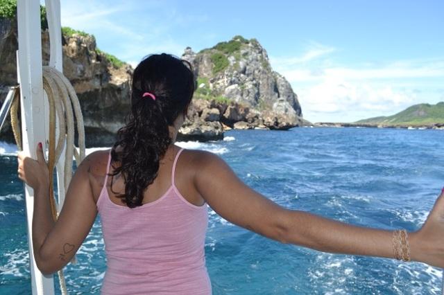 Foto de costas porque a cara péssima não me permite hahaha