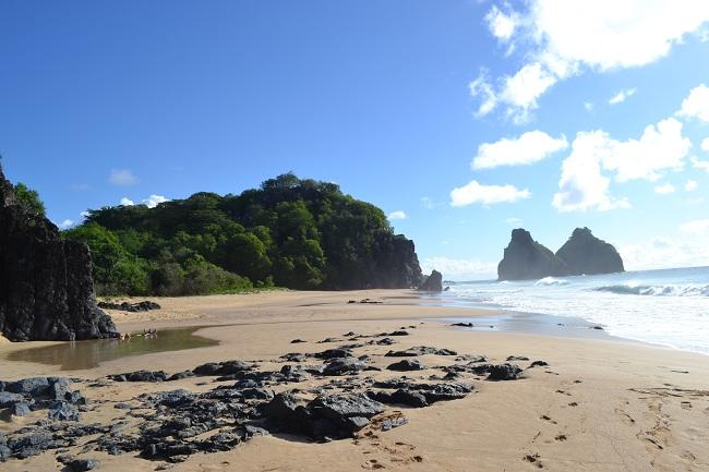 Piscininha natural da Praia do Bode