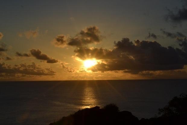 Pôr do sol no Mirante do Boldró
