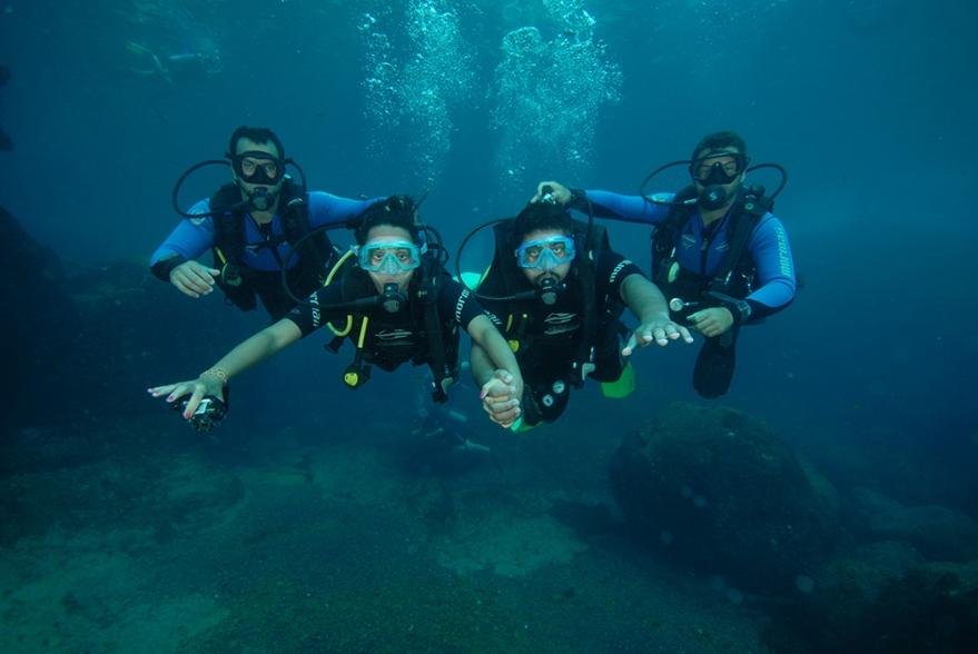 mergulho cilindro noronha