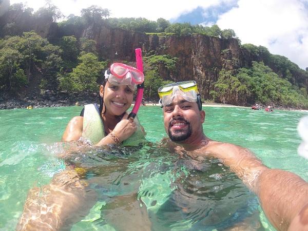 Snorkeling no Sancho