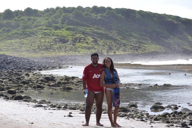 Esta é a famosa praia do Atalaia