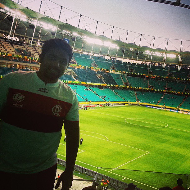 Salvador tem um belo estádio com a Arena Fonte Nova