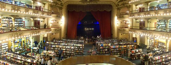 Livraria El Ateneo - Buenos Aires, 2010