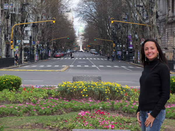 Av. de Mayo perto da Casa Rosada - Buenos Aires, 2010