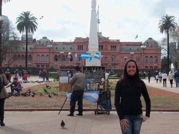 Casa Rosada mais de perto - Buenos Aires, 2010