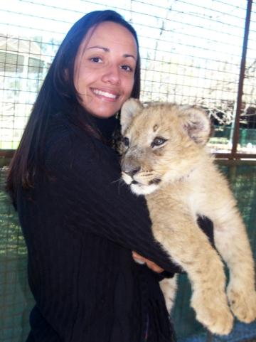 Filhote de leão - Zoo Lujan - Argentina, 2010