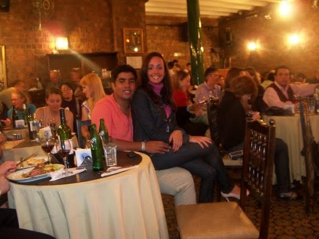 Jantarzinho no Tortoni com tango