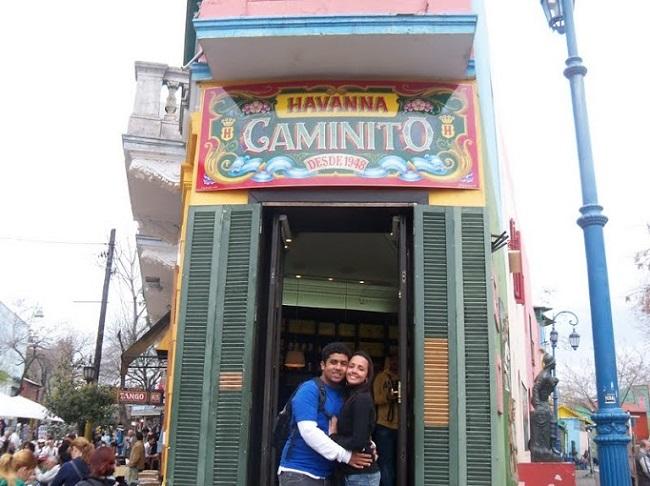 Caminito é a alma de Buenos Aires