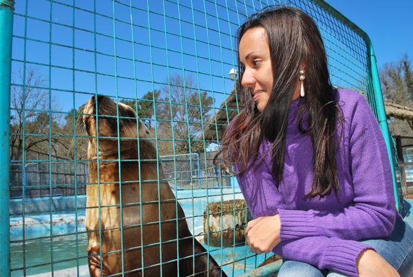 Lontra - Zoo Lujan - Argentina, 2010