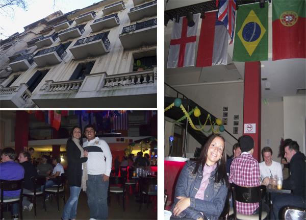 Hostel Milhouse na Av. de Mayo - Buenos Aires, 2010