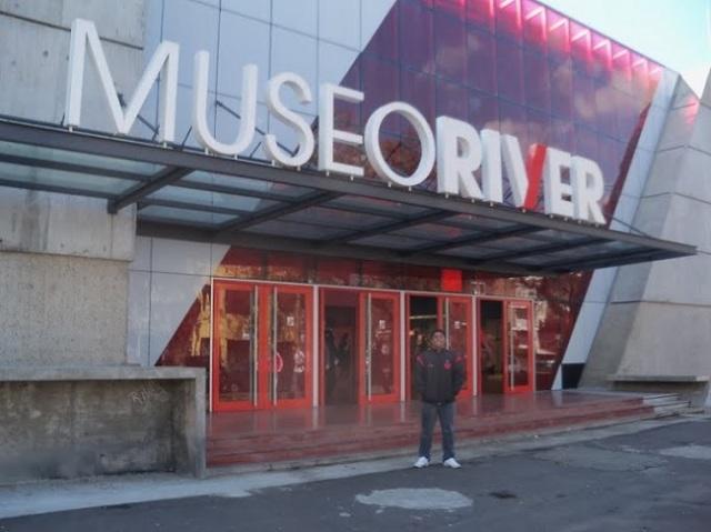 Entrada do museu é muito bonita