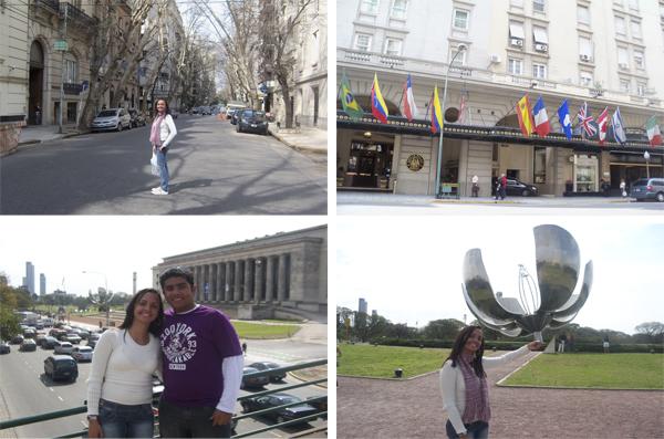 Alguns pontos turísticos de Buenos Aires