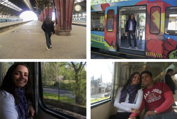 Estação Retiro e Tren de La Costa - Buenos Aires, 2010