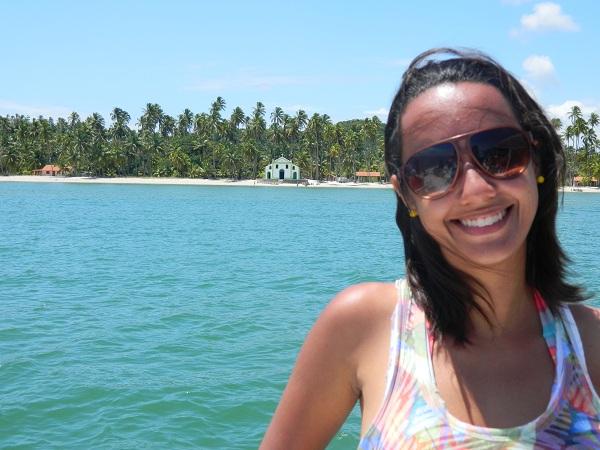 2011: Vista da Igreja de São Sebastião - Praia dos Carneiros