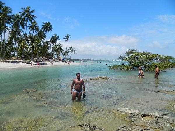 Água quentinha...quentinha -Praia dos Carneiros