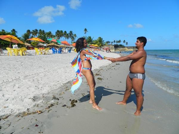 Praia do Forte Orange - Itamaracá - Pernambuco