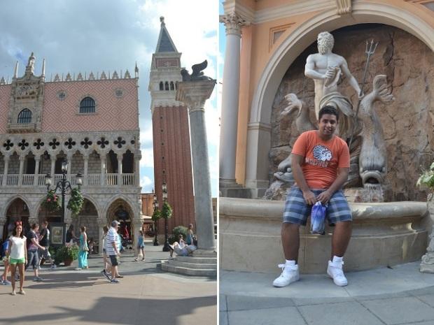 Itália é ótima, como na vida real