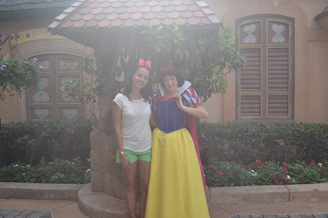 Aline e a Branca de Neve