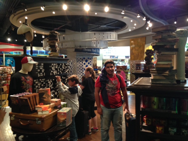 Loja do HP no aeroporto de Orlando