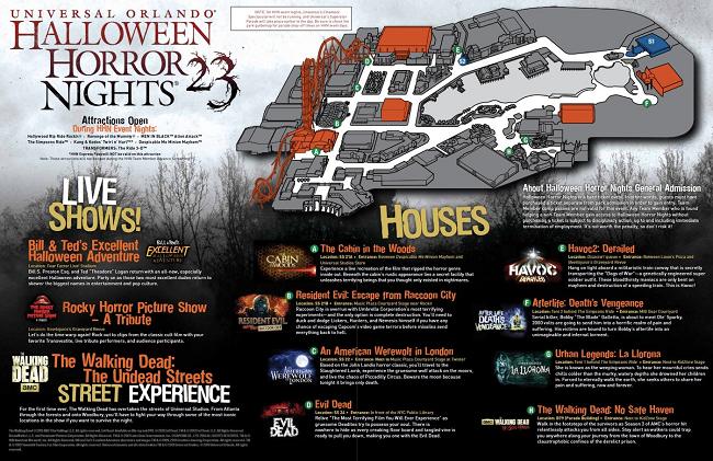 Horror Nights da Universal promete muitos sustos