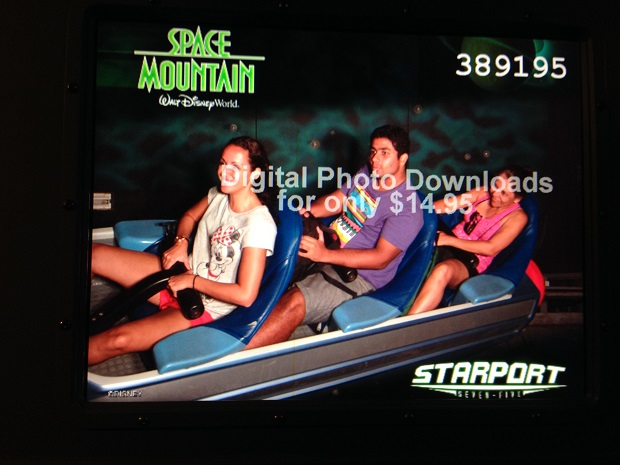 Space Mountain é IRADA