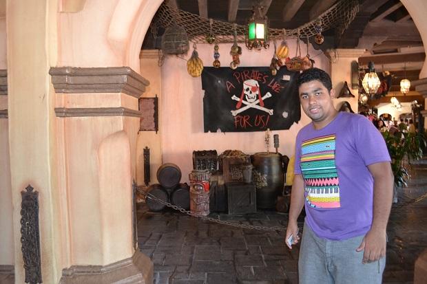 Piratas é bem sem graça