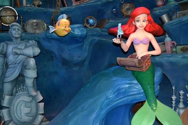 Atração da Ariel é bem detalhada