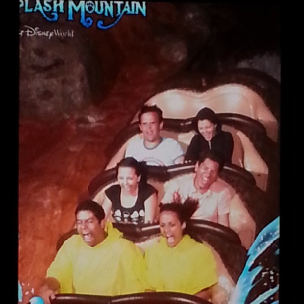 Splash Mountain deixa molhado