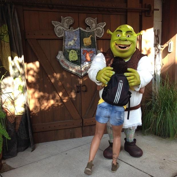 Aline e Shrek