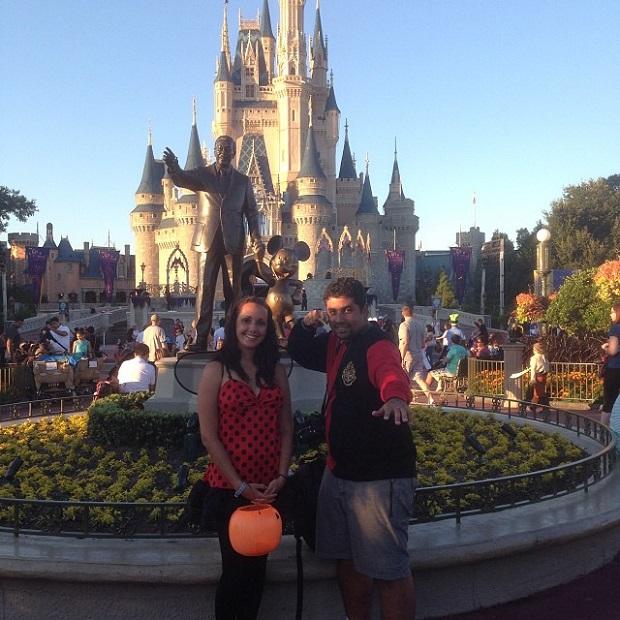 Nós, Walt, Mickey e o castelo