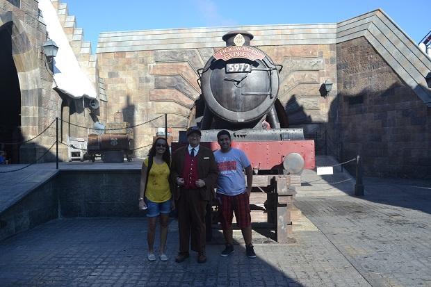 Chega ao WWoHP tem o Expresso de Hogwarts