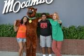 Mas o destaque do dia foi o Scooby