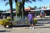 Chegada ao Busch Gardens