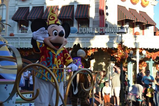 Mickey foi nos recepcionar :)