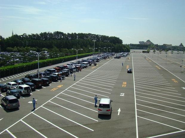 Estacionamentos são gigantes