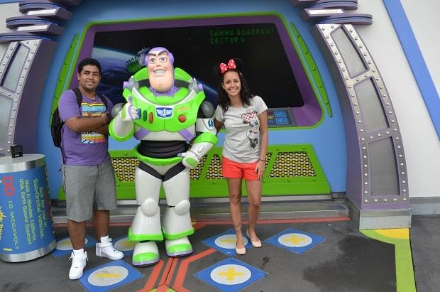 Buzz é muito legal!