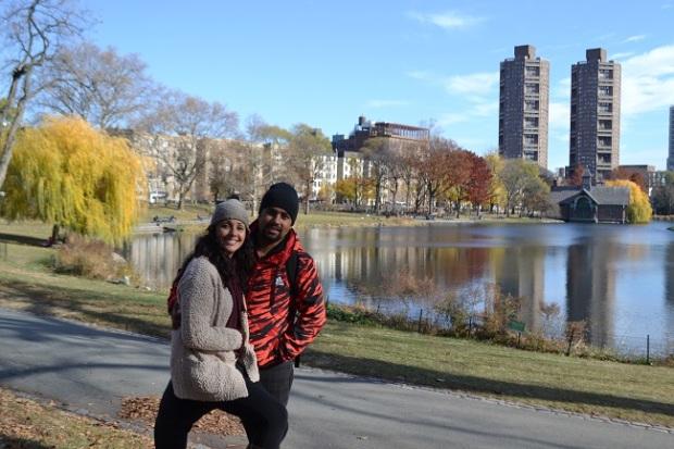 Central Park é muito legal