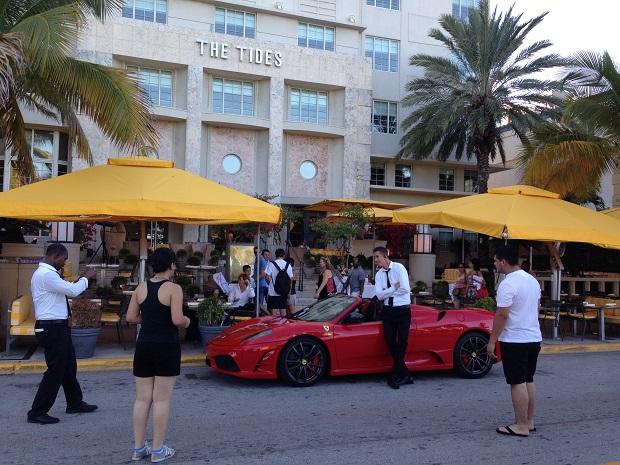 Nem só de Ferraris se anda em Miami
