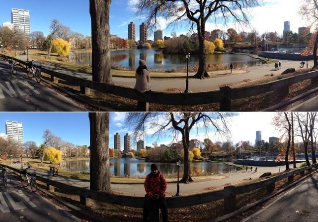 Visual do Central Park é muito bonito