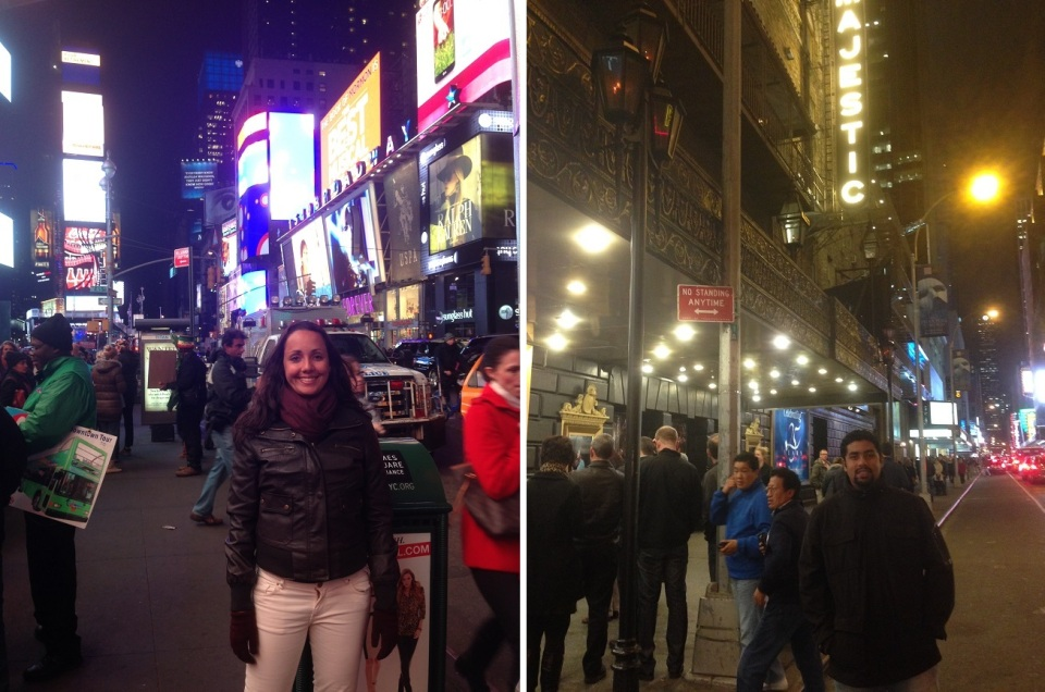 Broadway, rua famosa pelos musicais