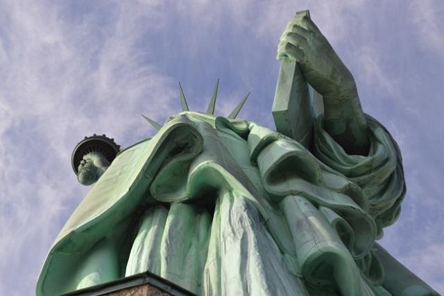 Vista da Estátua do alto do pedestal