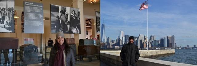 Museu da imigração da Ellis Island