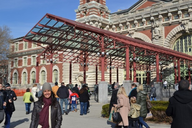 Chegada à Ellis Island