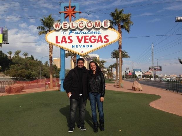 Las Vegas é muito divertido!